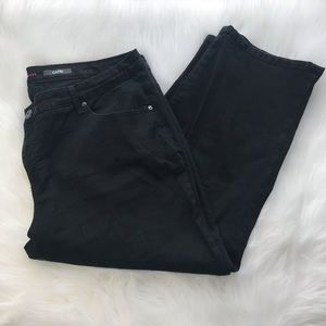 Style & Co black Capri jeans 18W